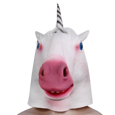 Halloween Latex Unicorn Head MaskHalloween Supplies<br>Halloween Latex Unicorn Head Mask<br><br>Material: Latex<br>Usage: Halloween,Christmas,Performance,Party<br>Color: White<br>Product weight: 0.295 kg<br>Package weight: 0.373 kg<br>Product size (L x W x H): 52.00 x 24.00 x 32.00 cm / 20.47 x 9.45 x 12.6 inches<br>Package size (L x W x H): 35.00 x 20.00 x 4.00 cm / 13.78 x 7.87 x 1.57 inches<br>Package Contents: 1 x Artificial Halloween Latex Unicorn Head Mask Masquerade Parties Cosplay Gadget