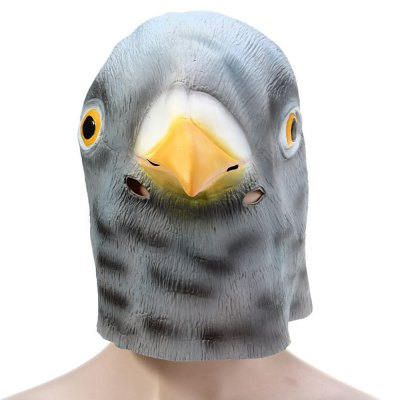 Halloween Latex Pigeon MaskHalloween Supplies<br>Halloween Latex Pigeon Mask<br><br>Material: Latex<br>Usage: Halloween,Christmas,Performance,Party<br>Color: Gray<br>Product weight: 0.167 kg<br>Package weight: 0.235 kg<br>Product size (L x W x H): 30.00 x 28.00 x 26.00 cm / 11.81 x 11.02 x 10.24 inches<br>Package size (L x W x H): 30.00 x 20.00 x 5.00 cm / 11.81 x 7.87 x 1.97 inches<br>Package Contents: 1 x Artificial Halloween Latex Pigeon Mask Masquerade Parties Cosplay Gadget