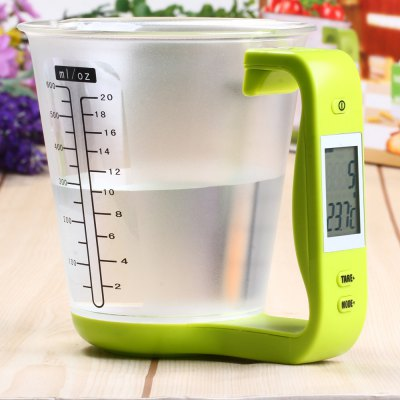Hostweigh NS - C01 Digital Scale Measuring Cup Thermometer