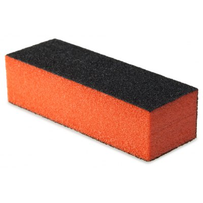 Professional Silicon Carbide Abrasive Drywall Sponge Sanding Pad Black There Sides Sanding Sponge Use to Polish The Crystal Nail