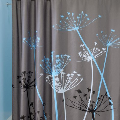 3D Polyester Shower Curtain