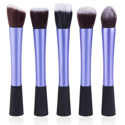 Cosmetic 5 Pcs Candy Color Makeup Brush Set