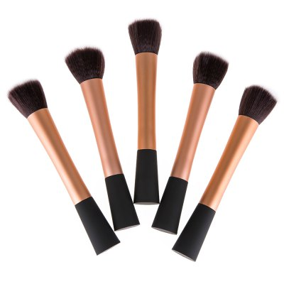 5 Pcs Candy Color Makeup Brush SetMakeup Brushes &amp; Tools<br>5 Pcs Candy Color Makeup Brush Set<br><br>Type: Makeup Brush Set<br>Features: Soft, Lightweight, Easy to Carry<br>Style: Middle Brush<br>Brush hair: Fiber<br>Material: Stainless Steel<br>Package weight: 0.179 kg<br>Package size (L x W x H): 14 x 10 x 5 cm / 5.50 x 3.93 x 1.97 inches<br>Package Contents: 1 x Brush Set