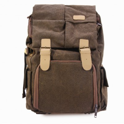 Caden N5 Water-resistant Canvas Backpack Camera BagPhotography Accessories<br>Caden N5 Water-resistant Canvas Backpack Camera Bag<br><br>Applicable models: Caden N5<br>Type: Double shoulder, Multi-purpose design, Pocket, Portable handbag<br>Material: Canvas, Leather<br>Waterproof: Yes<br>Product weight: 1.560 kg<br>Package weight: 1.62 kg<br>Product size (L x W x H): 32 x 19 x 46 cm / 12.58 x 7.47 x 18.08 inches<br>Package size (L x W x H): 33 x 20 x 47 cm / 12.97 x 7.86 x 18.47 inches<br>Package contents: 1 x Caden N5 Canvas Camera Bag
