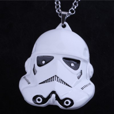 Stylish Star Wars Stormtrooper Pendant Necklace