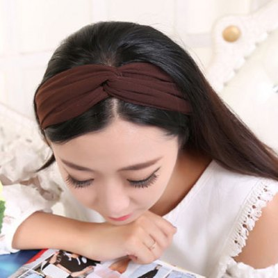 Charming Solid Color Hairband For WomenWomens Hair Accessories<br>Charming Solid Color Hairband For Women<br><br>Headwear Type: Hairbands<br>Group: Adult<br>Gender: For Women<br>Style: Fashion<br>Pattern Type: Solid<br>Weight: 0.08KG<br>Package Contents: 1 x Hairband