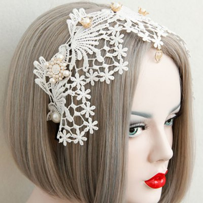 Gorgeous Lace Faux Pearl Decorated Hairband For WomenWomens Hair Accessories<br>Gorgeous Lace Faux Pearl Decorated Hairband For Women<br><br>Headwear Type: Hairbands<br>Group: Adult<br>Gender: For Women<br>Style: Fashion<br>Pattern Type: Others<br>Weight: 0.050KG<br>Package Contents: 1 x Hairband