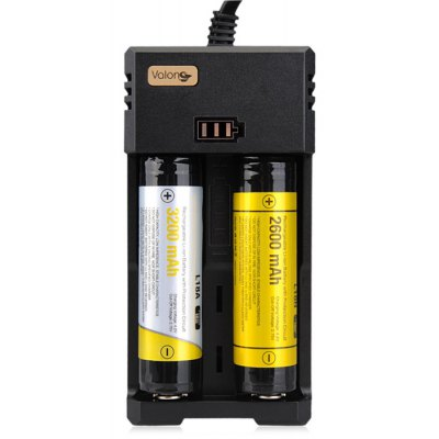 Valon H2 2 Slots Lithium-ion Battery Charger