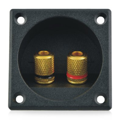 Binding Post Double Terminal Connector