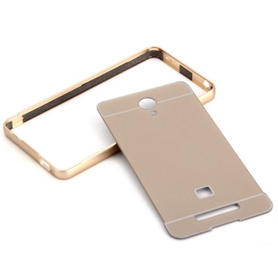 Thin PC Phone Cover Case with Mental Frame for Xiaomi Redmi Hongmi Note 2