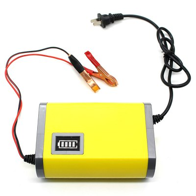 CS-326 220V Car Motorcycle Battery Charger 12V / 6A Power Supply Adapter