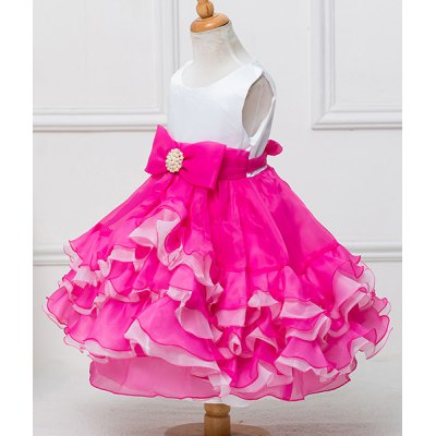 Cute Sleeveless Bowknot Embellished Multilayered Ball Gown Dress For GirlGirls Clothing<br>Cute Sleeveless Bowknot Embellished Multilayered Ball Gown Dress For Girl<br><br>Style: Cute<br>Material: Polyester<br>Silhouette: Ball Gown<br>Dresses Length: Mid-Calf<br>Neckline: Scoop Neck<br>Sleeve Length: Sleeveless<br>Pattern Type: Others<br>With Belt: No<br>Season: Summer<br>Weight: 0.35KG<br>Package Contents: 1 x Dress