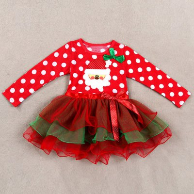 Cute Polka Dot Santa Claus Spliced Multilayered Christmas Mini Dress For GirlGirls Clothing<br>Cute Polka Dot Santa Claus Spliced Multilayered Christmas Mini Dress For Girl<br><br>Style: Novelty<br>Material: Polyester<br>Silhouette: Ball Gown<br>Dresses Length: Mini<br>Neckline: Round Collar<br>Sleeve Length: Long Sleeves<br>Pattern Type: Polka Dot<br>With Belt: No<br>Season: Fall<br>Weight: 0.20KG<br>Package Contents: 1 x Dress