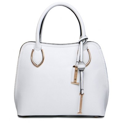 Metal Design Tote Bag For Women