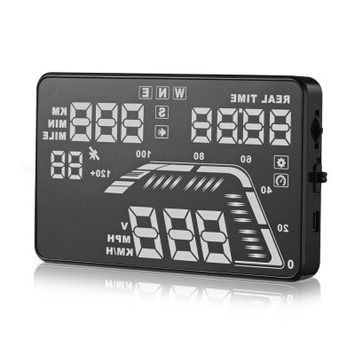 Q7 HUD 5.5 inch GPSOBD &amp; Diagnostic Tools<br>Q7 HUD 5.5 inch GPS<br><br>Color: Black<br>Data measurements: Clock,Vehicle speed,RPM,fuel consumption,throttle position,live data<br>Language: English<br>Model: Q7<br>Package Contents: 1 x Q7 Head Up Display, 1 x Reflective Film, 1 x Car Charger, 1 x Antiskid Pad, 1 x English User Manual<br>Package size (L x W x H): 16.60 x 13.00 x 4.30 cm / 6.54 x 5.12 x 1.69 inches<br>Package weight: 0.320 kg<br>Product weight: 0.110 kg<br>Screen: 5.5 inch