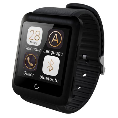 U WATCH U11 Smart Watch PhoneSmart Watch Phone<br>U WATCH U11 Smart Watch Phone<br><br>Brand: U Watch<br>Type: Watch Phone<br>CPU: MTK2502<br>External Memory: Not Supported<br>Wireless Connectivity: GSM,Bluetooth 4.0<br>Network type: GSM<br>Frequency: GSM850/900/1800/1900MHz<br>Bluetooth: Yes<br>Screen size: 1.59 inch<br>Screen resolution: 320 x 320<br>Camera type: No camera<br>SIM Card Slot: Single SIM(Micro SIM slot)<br>Speaker: Supported<br>Languages: English, French, Spanish, Polish, Italian, Portuguese, German, Czech, Dutch, Finnish, Turkish, Russian, Greek, Swedish, Romanian<br>Cell Phone: 1<br>Charging Dock: 1<br>Battery: 360mAh Built-in<br>USB Cable: 1<br>English Manual : 1<br>Product size: 5.0 x 4.02 x 0.89 cm / 1.97 x 1.58 x 0.35 inches<br>Package size: 13.5 x 12.0 x 8.5 cm / 5.31 x 4.72 x 3.34 inches<br>Product weight: 0.065 kg<br>Package weight: 0.240 kg