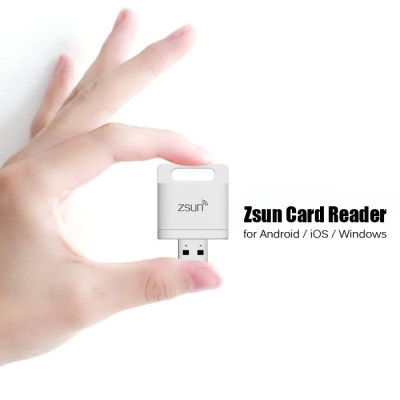 Zsun WiFi USB 2.0 TF Card Reader