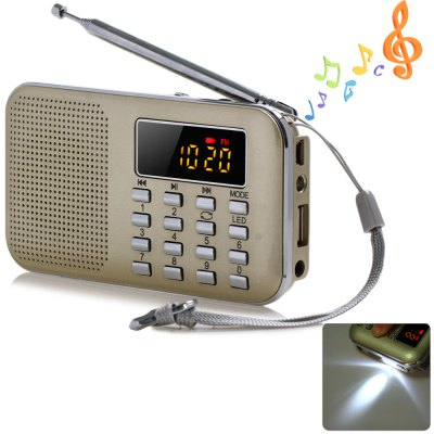 Mini Digital LCD MP3 Portable Speaker