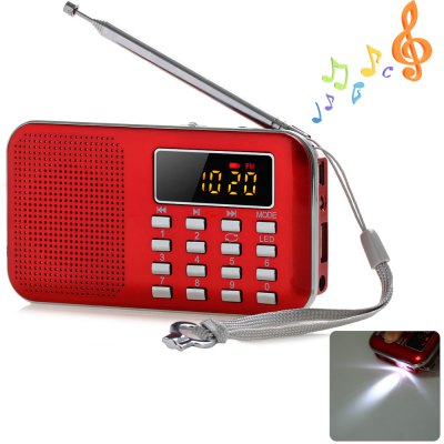 Mini Digital LCD MP3 Radio Speaker Player