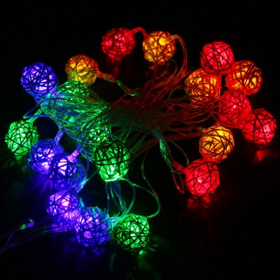 4m 20 LED Vine Ball String Light
