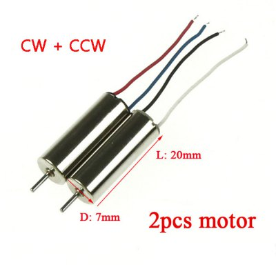 Motor Fitting for MJX X800 Hexacopter 1 x CW + 1 x CCW