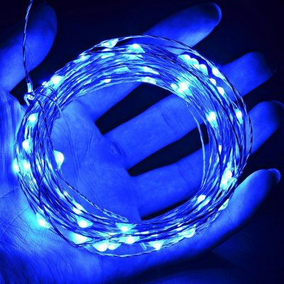 100 LED String Light Silver WireChristmas Supplies<br>100 LED String Light Silver Wire<br><br>For: All<br>Material: Silver, Electronic Components<br>Package Contents: 1 x LED String Light<br>Package size (L x W x H): 14.5 x 9 x 7 cm / 5.70 x 3.54 x 2.75 inches<br>Package weight: 0.190 kg<br>Product weight: 0.150 kg<br>Usage: Party, Others, Performance, New Year, Christmas, Birthday, Stage, Wedding