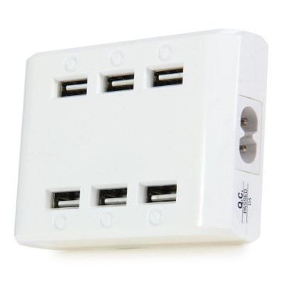 M561 6 LED 6 Ports USB Charger