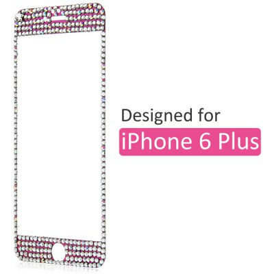Tempered Glass Screen Protector with 9H High Hardness Bling Diamond for iPhone 6 Plus