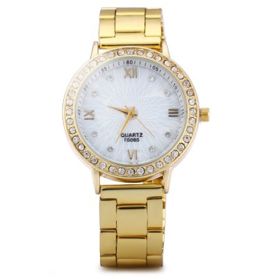 Diamond Bezel Female Quartz Watch with Stainless Steel StrapWomens Watches<br>Diamond Bezel Female Quartz Watch with Stainless Steel Strap<br><br>Band material: Stainless Steel<br>Case material: Stainless Steel<br>Clasp type: Folding clasp with safety<br>Display type: Analog<br>Movement type: Quartz watch<br>Package Contents: 1 x Watch<br>Package size (L x W x H): 21 x 4.8 x 1.6 cm / 8.25 x 1.89 x 0.63 inches<br>Package weight: 0.111 kg<br>Product size (L x W x H): 20 x 3.8 x 0.6 cm / 7.86 x 1.49 x 0.24 inches<br>Product weight: 0.061 kg<br>Shape of the dial: Round<br>Style: Fashion&amp;Casual<br>The band width: 1.8 cm / 0.71 inches<br>The dial diameter: 3.8 cm / 1.5 inches<br>The dial thickness: 0.6 cm / 0.24 inches<br>Watches categories: Female table