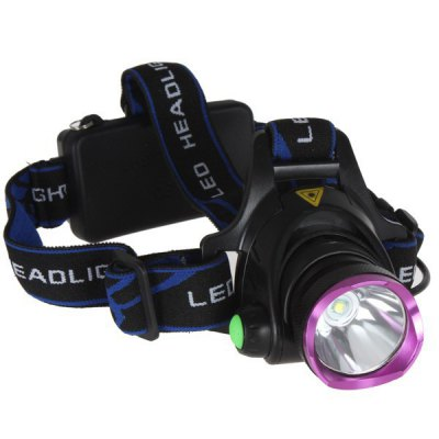 Cree XM - L T6 LED Headlight with 3 Modes 1600 Lumens