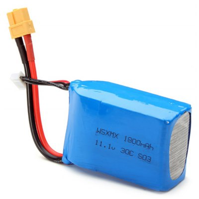 Spare WSX - S03 11.1V 30C 1800mAh Battery Fitting for ZMR250 GE260 Remote Control Multirotor