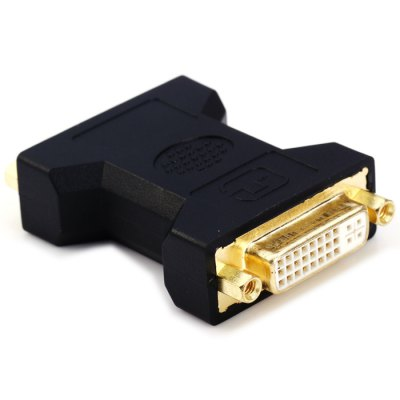 DVI Female to Female AdapterCables &amp; Connectors<br>DVI Female to Female Adapter<br><br>Interface: DVI<br>Material: Copper, ABS<br>Package Contents: 1 x DVI Female to Female Adapter<br>Package size (L x W x H): 10 x 7 x 3.5 cm / 3.93 x 2.75 x 1.38 inches<br>Package weight: 0.107 kg<br>Product size (L x W x H): 6.5 x 4 x 1.5 cm / 2.55 x 1.57 x 0.59 inches<br>Product weight: 0.047 kg