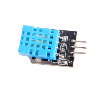 DHT11 Temperature Humidity Sensor ModuleSensors<br>DHT11 Temperature Humidity Sensor Module<br><br>Mainly Compatible with: Ardunio<br>Operating voltage: 5V<br>Package Contents: 1 x Sensor Module<br>Package Size(L x W x H): 6 x 4 x 2.5 cm / 2.36 x 1.57 x 0.98 inches<br>Package weight: 0.085 kg<br>Product Size(L x W x H): 2.5 x 1.5 x 1 cm / 0.98 x 0.59 x 0.39 inches<br>Product weight: 0.003 kg<br>Type: Sensor Module