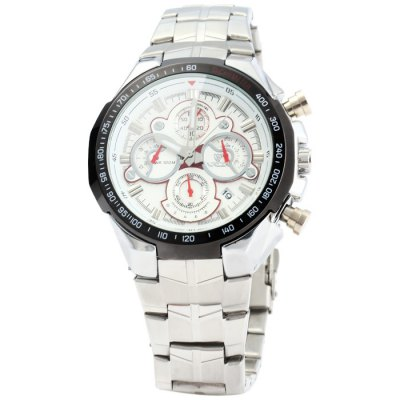 Valia 8609 Male Japan Quartz WatchMens Watches<br>Valia 8609 Male Japan Quartz Watch<br><br>Available Color: Black,White<br>Band material: Stainless Steel<br>Brand: Valia<br>Case material: Stainless Steel<br>Clasp type: Folding clasp with safety<br>Display type: Analog<br>Movement type: Quartz watch<br>Package Contents: 1 x Valia 8609 Watch<br>Package size (L x W x H): 25.00 x 5.50 x 2.20 cm / 9.84 x 2.17 x 0.87 inches<br>Package weight: 0.2230 kg<br>Product size (L x W x H): 24.00 x 4.50 x 1.20 cm / 9.45 x 1.77 x 0.47 inches<br>Product weight: 0.1730 kg<br>Shape of the dial: Round<br>Special features: Date, Luminous<br>Style elements: Big dial<br>The band width: 2.0 cm / 0.79 inches<br>The dial diameter: 4.5 cm / 1.77 inches<br>The dial thickness: 1.2 cm / 0.47 inches<br>Watch style: Business<br>Watches categories: Male table<br>Water resistance : 100 meters