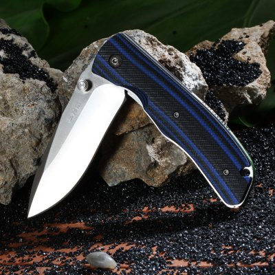 Sanrenmu 9055 MUC-GHI Stainless Steel Blade Folding KnifePocket Knives and Folding Knives<br>Sanrenmu 9055 MUC-GHI Stainless Steel Blade Folding Knife<br><br>Blade Edge Type: Fine<br>Blade Length: 7.8 cm<br>Blade Length Range: 5cm-10cm<br>Blade Material: Stainless Steel<br>Blade Width : 2.5 cm<br>Brand: Sanrenmu<br>Clip Length: 6 cm<br>Color: Blue<br>For: Travel, Collecting, Mountaineering, Adventure, Hiking, Camping<br>Lock Type: No lock<br>Package Contents: 1 x Sanrenmu 9055 MUC-GHI Knife<br>Package size (L x W x H): 18 x 9 x 3.5 cm / 7.07 x 3.54 x 1.38 inches<br>Package weight: 0.160 kg<br>Product size (L x W x H): 10.5 x 3.3 x 1.7 cm / 4.13 x 1.30 x 0.67 inches<br>Product weight: 0.107 kg<br>Unfold Length: 18.5 cm<br>Weight Range: 101g-200g