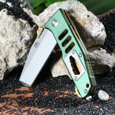 Sanrenmu 7046 LTX-LPR-T3 Folding KnifePocket Knives and Folding Knives<br>Sanrenmu 7046 LTX-LPR-T3 Folding Knife<br><br>Blade Edge Type: Fine<br>Blade Length: 6.5 cm<br>Blade Length Range: 5cm-10cm<br>Blade Material: Stainless Steel<br>Blade Width : 2.5 cm<br>Brand: Sanrenmu<br>Clip Length: 5 cm<br>Color: Green<br>For: Travel, Collecting, Mountaineering, Adventure, Hiking, Camping<br>Lock Type: Liner Lock<br>Package Contents: 1 x Sanrenmu 7046 LTX-LPR-T3 Folding Knife<br>Package size (L x W x H): 15.5 x 8 x 3 cm / 6.09 x 3.14 x 1.18 inches<br>Package weight: 0.140 kg<br>Product size (L x W x H): 9.5 x 3.1 x 1.5 cm / 3.73 x 1.22 x 0.59 inches<br>Product weight: 0.084 kg<br>Unfold Length: 16.5 cm<br>Weight Range: 51g-100g