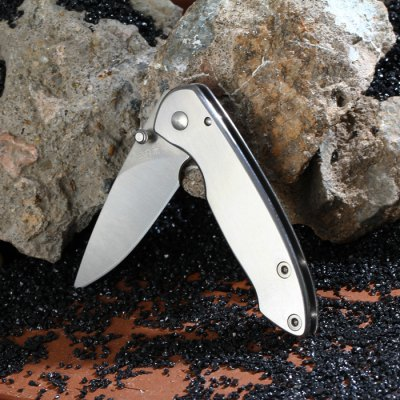 Sanrenmu 6011 LUC - SA Folding Knife with Liner LockPocket Knives and Folding Knives<br>Sanrenmu 6011 LUC - SA Folding Knife with Liner Lock<br><br>Blade Edge Type: Fine<br>Blade Length: 4.5 cm<br>Blade Length Range: 5cm-10cm<br>Blade Material: Stainless Steel<br>Blade Width : 1.7 cm<br>Brand: Sanrenmu<br>Clip Length: 4 cm<br>Color: Silver<br>For: Travel, Collecting, Mountaineering, Adventure, Hiking, Camping<br>Lock Type: Liner Lock<br>Package Contents: 1 x Folding Knife, 1 x Chinese User Manual<br>Package size (L x W x H): 14 x 8 x 2.8 cm / 5.50 x 3.14 x 1.10 inches<br>Package weight: 0.100 kg<br>Product size (L x W x H): 7.2 x 2 x 1 cm / 2.83 x 0.79 x 0.39 inches<br>Product weight: 0.039 kg<br>Unfold Length: 12.3 cm<br>Weight Range: 1g-50g