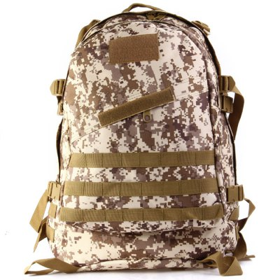 Outdoor 45L 3D Tactical Backpack with Molle SystemBackpacks<br>Outdoor 45L 3D Tactical Backpack with Molle System<br><br>Bag Capacity: 45L<br>Capacity: Above 40L<br>Color: AT Camouflage,Balck Python Pattern,Black,Desert Digital Camouflage,FG Camouflage,Green Python Pattern,Three Sand Camouflage<br>Features: Tactical Style, Foldable, molle system<br>For: Tactical, Other, Cycling, Climbing, Camping, Traveling<br>Material: Oxford Fabric<br>Package Contents: 1 x 3D 45L Tactical Backpack<br>Package size (L x W x H): 24.00 x 47.00 x 7.00 cm / 9.45 x 18.5 x 2.76 inches<br>Package weight: 1.500 kg<br>Product size (L x W x H): 52.00 x 45.00 x 11.00 cm / 20.47 x 17.72 x 4.33 inches<br>Product weight: 1.200 kg<br>Type: Backpack