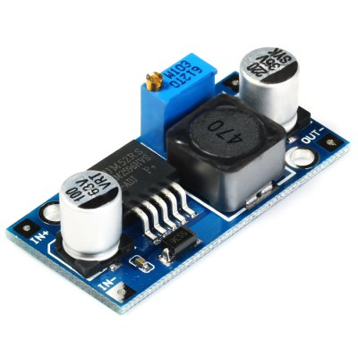 DC-LM2596HVS Adjustable Step-down Regulator ModuleOther Accessories<br>DC-LM2596HVS Adjustable Step-down Regulator Module<br><br>Model: DC-LM2596HVS<br>Package Contents: 1 x DC-LM2596HVS Adjustable Step-down Regulator Module<br>Package Size(L x W x H): 8 x 6 x 1.5 cm / 3.14 x 2.36 x 0.59 inches<br>Package weight: 0.062 kg<br>Product Size(L x W x H): 4.4 x 2.2 x 1.4 cm / 1.73 x 0.86 x 0.55 inches<br>Product weight: 0.011 kg<br>Type: Adjustable Step-down Regulator Module