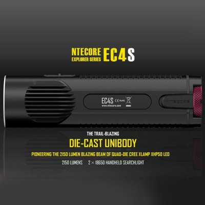 Nitecore EC4S LED Flashlight