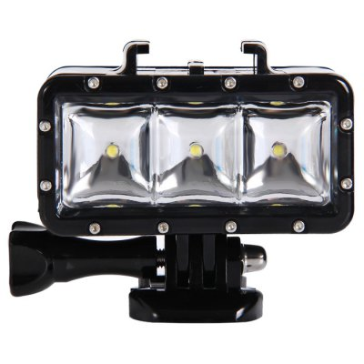 AT471 Waterproof Camera Video LightAction Cameras &amp; Sport DV Accessories<br>AT471 Waterproof Camera Video Light<br><br>Accessory type: Bracket, Video Light, USB Cable, Screw, Mount Holder, Battery<br>Apply to Brand: Amkov,Dazzne,Discovery,Eken,FIREFLY,GitUp,Gopro,SJCAM,Soocoo,Xiaomi<br>Compatible with: SJ6000, SJ7000, SJCAM 4000 plus, SJCAM 5000 plus, SJCAM M10, SJCAM M10 Plus, Soocoo C10, Soocoo S60, Xiaomi Yi, SJ5000, SJ4000, GoPro Hero Series, GoPro Hero 4 Session, A9, Action Camera, AMK 5000, AMK 5000S, Dazzne P2, Dazzne P3, Discovery DS100, Discovery DS200, FIREFLY 5S, Gopro Hero 4, Gopro Hero 3 Plus, Gopro Hero 3, Gopro Hero 2, Gopro Hero 1, Gitup Git2, GitUp Git1<br>For Activity: Wakeboarding, Universal, Surfing, Snowboarding, Skate, Kayaking, General Sports, Dive, Boating<br>Material: Plastic<br>Package Contents: 1 x AT471 LED 30M Waterproof Camera Video Light, 1 x 1300mAh Battery, 1 x Buckle Mount with Screw, 1 x USB Cable (0.7m Length), 1 x Spanner<br>Package size (L x W x H): 21.00 x 11.00 x 5.00 cm / 8.27 x 4.33 x 1.97 inches<br>Package weight: 0.250 kg<br>Product size (L x W x H): 7.50 x 3.80 x 6.00 cm / 2.95 x 1.5 x 2.36 inches<br>Product weight: 0.080 kg<br>Waterproof: Yes