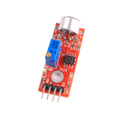 KY-037 Microphone Sensor ModuleSensors<br>KY-037 Microphone Sensor Module<br><br>Mainly Compatible with: Ardunio<br>Material: PCB<br>Model: KY-037<br>Package Contents: 1 x KY-037 Microphone Sensor Module<br>Package Size(L x W x H): 6 x 4 x 2 cm / 2.36 x 1.57 x 0.79 inches<br>Package weight: 0.085 kg<br>Product Size(L x W x H): 4 x 1.5 x 1 cm / 1.57 x 0.59 x 0.39 inches<br>Product weight: 0.003 kg<br>Type: Microphone Sensor Module