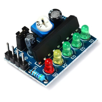 KA2284 Power / Audio Level Indicator ModuleOther Accessories<br>KA2284 Power / Audio Level Indicator Module<br><br>Model: KA2284<br>Package Contents: 1 x KA2284 Power / Audio Level Indicator Module<br>Package Size(L x W x H): 8.1 x 6.1 x 1.1 cm / 3.18 x 2.40 x 0.43 inches<br>Package weight: 0.054 kg<br>Product Size(L x W x H): 2.9 x 2.1 x 1 cm / 1.14 x 0.83 x 0.39 inches<br>Product weight: 0.003 kg<br>Type: Level Indicator Module