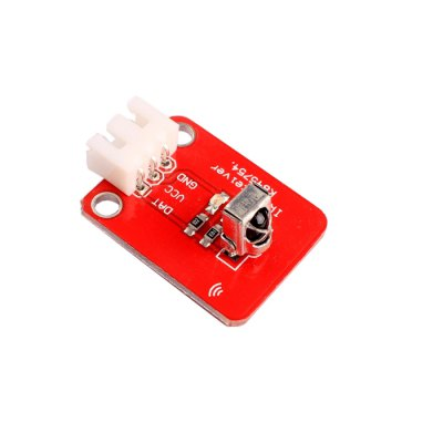 1838T Infrared Receiving Sensor ModuleSensors<br>1838T Infrared Receiving Sensor Module<br><br>Mainly Compatible with: Ardunio<br>Material: PCB<br>Package Contents: 1 x Module, 1 x Dupont Line<br>Package Size(L x W x H): 6 x 4 x 2 cm / 2.36 x 1.57 x 0.79 inches<br>Package weight: 0.085 kg<br>Product Size(L x W x H): 2.7 x 2.1 x 0.8 cm / 1.06 x 0.83 x 0.31 inches<br>Product weight: 0.003 kg<br>Type: Infrared Receiving Sensor Module