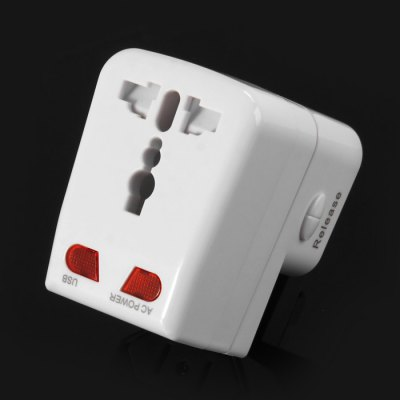 Protable 3 in 1 EK US EU Plug Power Adapter USB Wall Charger 100 - 250V  InputiPhone Cables &amp; Adapters<br>Protable 3 in 1 EK US EU Plug Power Adapter USB Wall Charger 100 - 250V  Input<br><br>Color: White<br>Features: ALL-in-1<br>Input: AC 100 - 250V, 50 - 60Hz<br>Mainly Compatible with: SAMSUNG, iPhone 6S, iPhone 4/4S, iPhone 5C, iPhone 5S, iPhone 6S Plus, iPad Air (iPad 5), iPhone 6 Plus, iPhone 6, Universal, Blackberry, Samsung Note 5, HTC, Samsung Galaxy S6 Edge Plus, iPhone 4, iPhone 4S, iPhone 5, Ipad 4, iPod<br>Material: ABS, PC<br>Output: AC Output: 100 - 250V, 50 - 60Hz; USB Output: DC 5V 1A<br>Package Contents: 1 x 3 in 1 EK US EU Plug Power Adapter<br>Package size (L x W x H): 7.5 x 6 x 8 cm / 2.95 x 2.36 x 3.14 inches<br>Package weight: 0.130 kg<br>Plug: EU plug,US plug,UK plug<br>Product size (L x W x H): 4.7 x 6.1 x 7.5 cm / 1.85 x 2.40 x 2.95 inches<br>Product weight: 0.085 kg<br>Type: Adapters