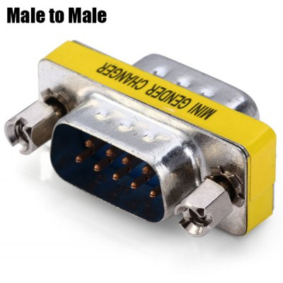 RS232 Male to Male Adapter