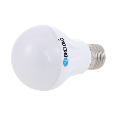BRELONG Light / Sound Control LED BulbGlobe bulbs<br>BRELONG Light / Sound Control LED Bulb<br><br>Available Light Color: Warm White,White<br>Brand: BRELONG<br>CCT/Wavelength: 3000-3500K,6000-6500K<br>Emitter Types: SMD 2835<br>Features: Sound-Activated, Low Power Consumption, Long Life Expectancy, Light Operated<br>Function: Studio and Exhibition Lighting, Commercial Lighting, Home Lighting<br>Holder: E27<br>Luminous Flux: 400Lm<br>Output Power: 5W<br>Package Contents: 1 x BRELONG E27 LED Light Bulb<br>Package size (L x W x H): 7.00 x 7.00 x 12.00 cm / 2.76 x 2.76 x 4.72 inches<br>Package weight: 0.110 kg<br>Product size (L x W x H): 6.00 x 6.00 x 10.50 cm / 2.36 x 2.36 x 4.13 inches<br>Product weight: 0.060 kg<br>Sheathing Material: Plastic<br>Total Emitters: 18<br>Type: Ball Bulbs<br>Voltage (V): AC 220-240