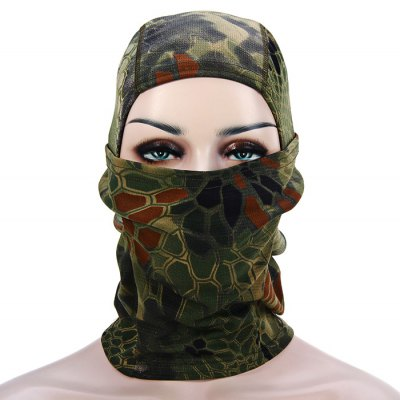 Outdoor Camouflage Counter-terrorism Mask