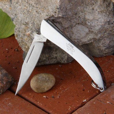 Sanrenmu C97 Portable Foldable KnifePocket Knives and Folding Knives<br>Sanrenmu C97 Portable Foldable Knife<br><br>Blade Edge Type: Fine<br>Blade Length: 3.5 cm<br>Blade Length Range: 0.01cm-5cm<br>Blade Material: Stainless Steel<br>Blade Width : 0.8 cm<br>Brand: Sanrenmu<br>Color: Silver<br>For: Adventure, Travel, Collecting, Mountaineering, Hiking, Camping<br>Handle Material: Stainless Steel<br>Lock Type: No lock<br>Package Contents: 1 x Sanrenmu C97 Folding Knife<br>Package size (L x W x H): 13 x 7 x 2.5 cm / 5.11 x 2.75 x 0.98 inches<br>Package weight: 0.065 kg<br>Product size (L x W x H): 5.5 x 1.2 x 0.5 cm / 2.16 x 0.47 x 0.20 inches<br>Product weight: 0.013 kg<br>Unfold Length: 9.5 cm<br>Weight Range: 1g-50g