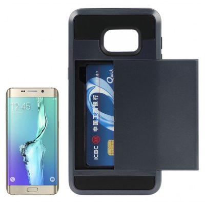 ENKAY High-definition Film Protective TPU Case Cover for Samsung Galaxy S6 Edge Plus G9280